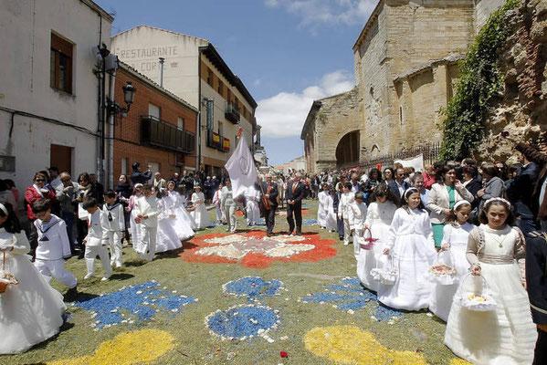 El Corpus Christi en Carrión de los Condes