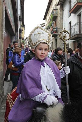 """Día de San Nicolás Txiki """"El Obispillo"""", en Segura"""
