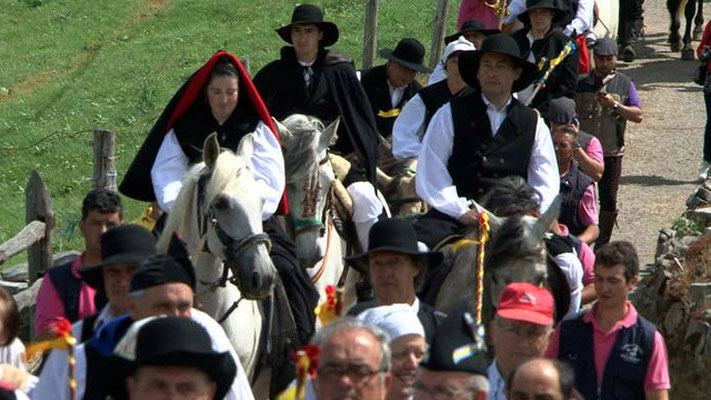 Boda Vaqueira y Vaqueirada en Braña de Aristébano, Valdés