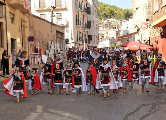Moros y Cristianos en Cocentaina