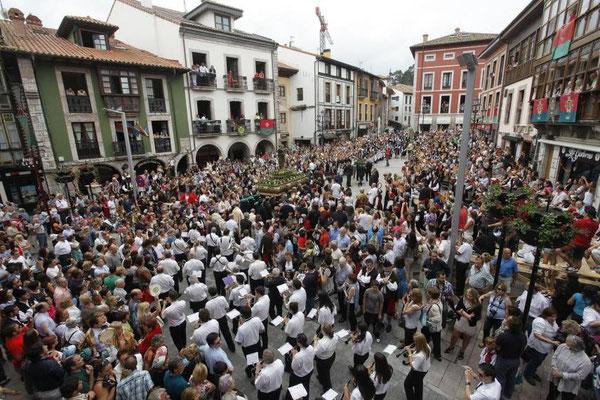 Fiestas de San Roque en Llanes