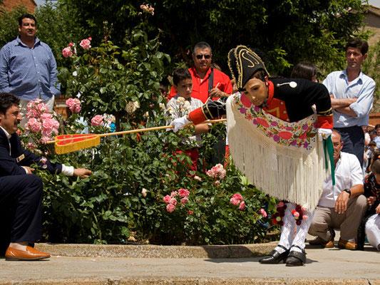 Corpus Christi en Laguna de Negrillos - Fiestas en León