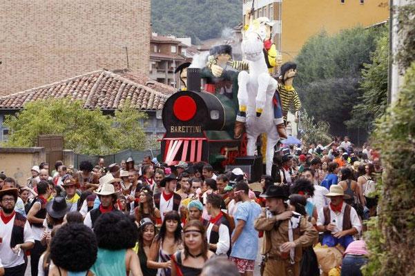 Descenso Folklórico del Nalón en Laviana