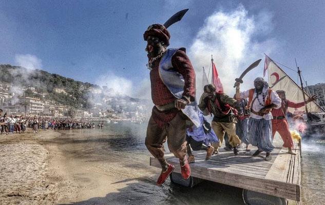 El Firó en Sóller, representación histórica de la invasión sarracena a Sóller