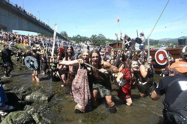 Romería Vikinga en Catoira
