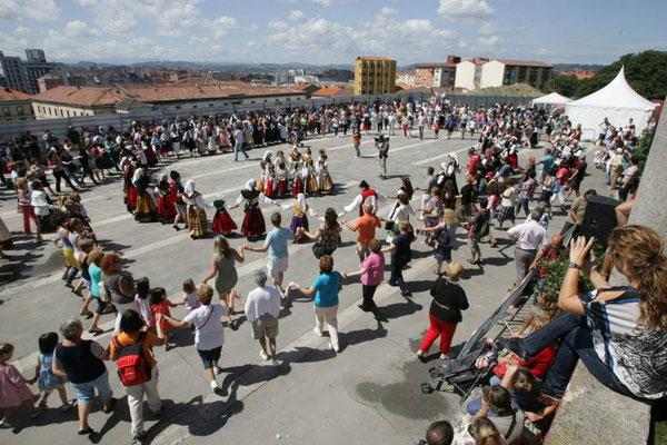 Día de Asturias en Gijón