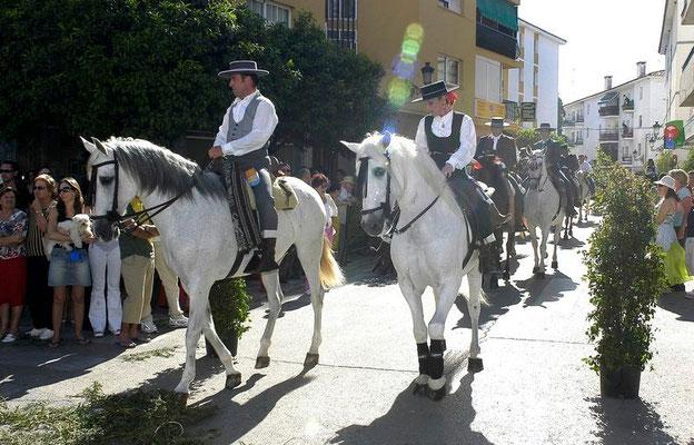 Festividad de San Isidro Labrador en Estepona