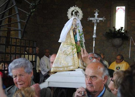 Fiestas de la Virgen de la Cabeza en Meres - Siero