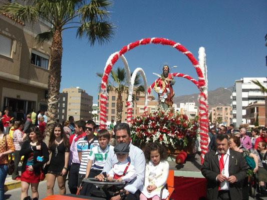 Festividad de San Marcos en Adra