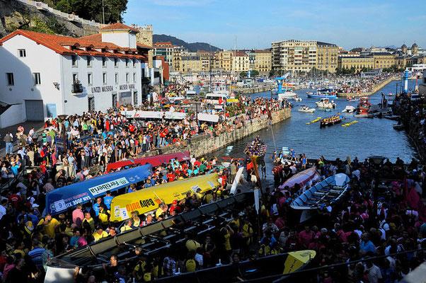 Regatas de Traineras - Bandera de la Concha en San Sebastián / Donostia