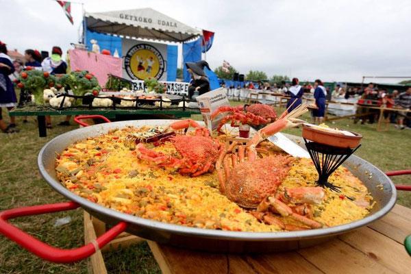Concurso Internacional de Paellas en Getxo