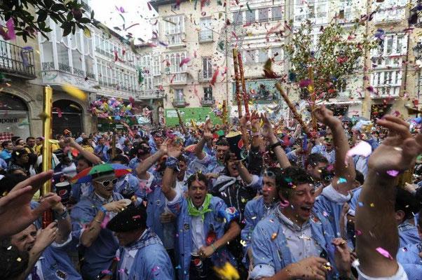 Día del Blusa y de la Neska en Vitoria Gasteiz
