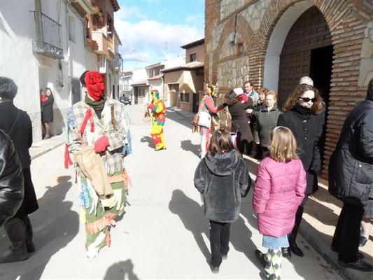 La Botarga y las mujigangas en Málaga del Fresno - Fiestas en Guadalajara
