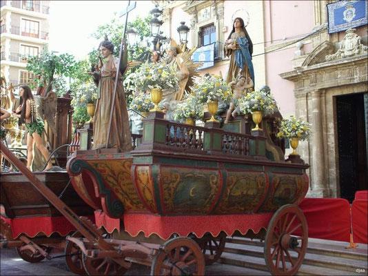 Corpus en Valencia - Paso de las Rocas