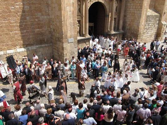 Los Corporales en Daroca, Fiestas del Corpus