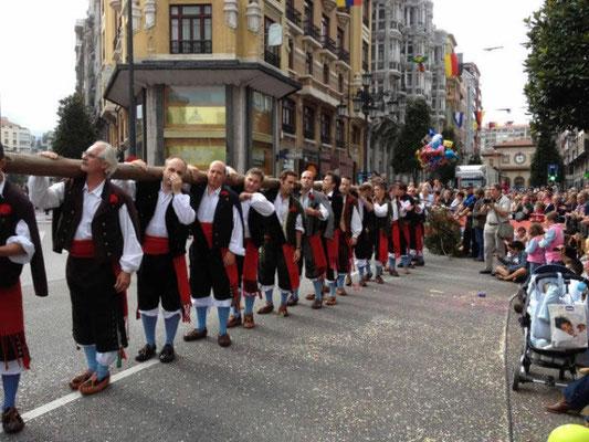 Día de América en Asturias, en Oviedo