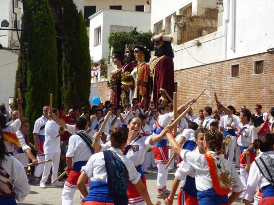 Festa Major de Sant Bartomeu en Sitges