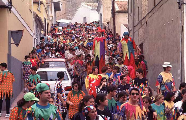 Fiesta de los Mayos en Alhama de Murcia