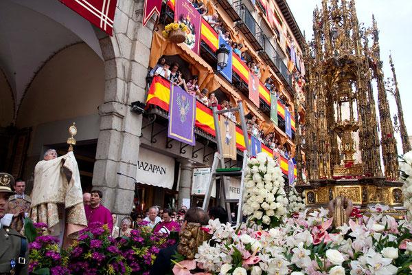 Programa de las Fiestas del Corpus en Toledo