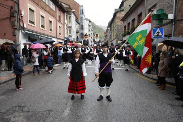 Fiesta de Los Humanitarios en Moreda, Asturias
