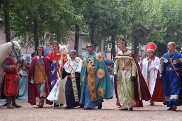 Proclamación de Fernando III El Santo en Nájera