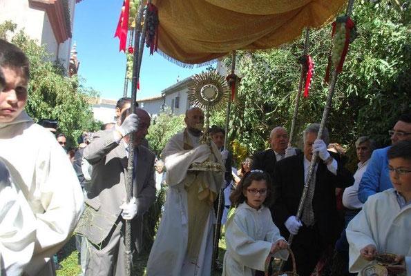 Corpus Christi en Zahara de la Sierra