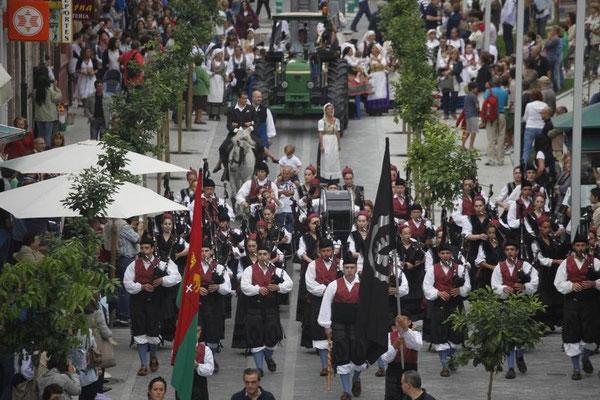 Fiesta de la Virgen de la Guía en Llanes, Asturias