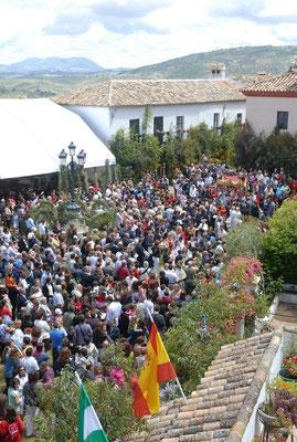 Fiesta del Corpus Christi en Zahara de la Sierra