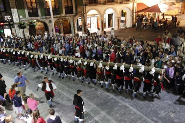 Fiestas de la Magdalena en Llanes, Asturias
