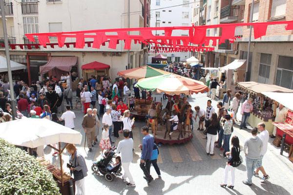 Mercado del Kan de Vico en Arnedo