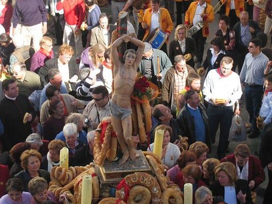 Fiesta de San Sebastián, Fiesta del Pan en Lubrín