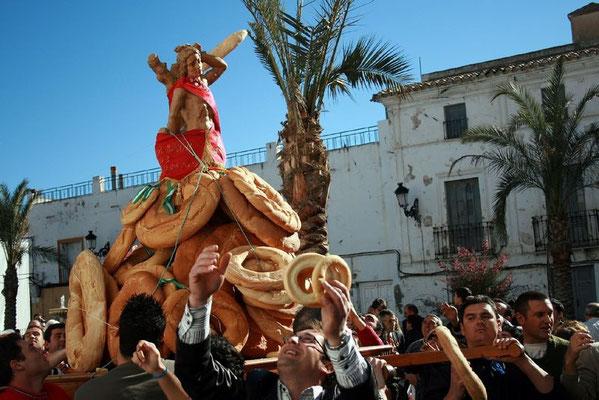 Fiestas de San Sebastián y San Ildefonso en Olula del Río
