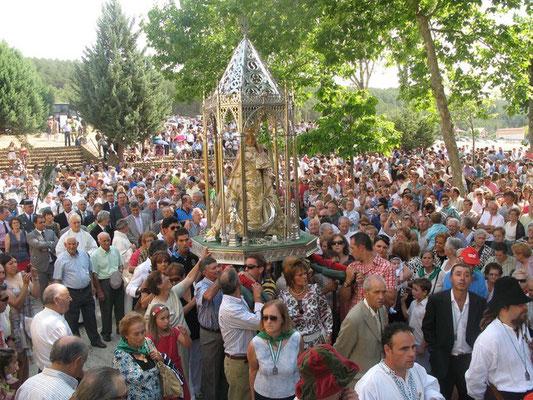 Fiestas Patronales de la Virgen del Valle en Saldaña