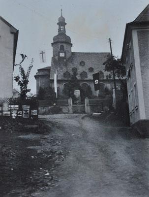 Kloschwitzer Kirche im 2. Weltkrieg