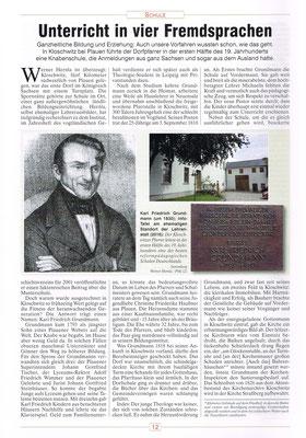 Seite 12 Historikus Vogtland / 12. Jahrgang (Heft I)/ Januar - März 2017