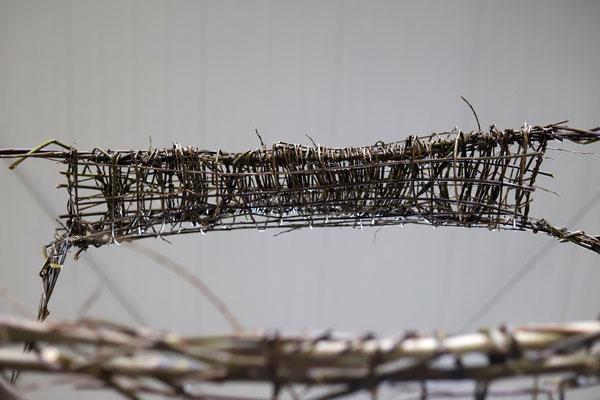 """""""Befristet"""" von Weidenwirbel bei """"Kunst bis zum Ende"""" von DiscArt in Bremen / Foto: Peggy Lohse"""