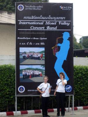 Konzertreise nach Bangkok 2013