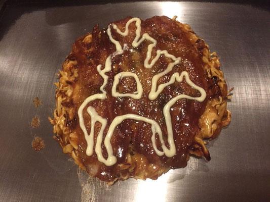 ブレーメンでお世話になったお好み焼きの「たけ坊」さんからもメッセージをいただきました。