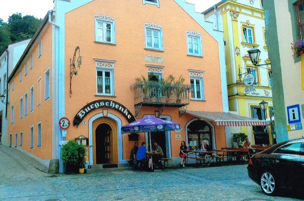 Burgschenke Margit Zajontz, Marktplatz 2 Riedenburg