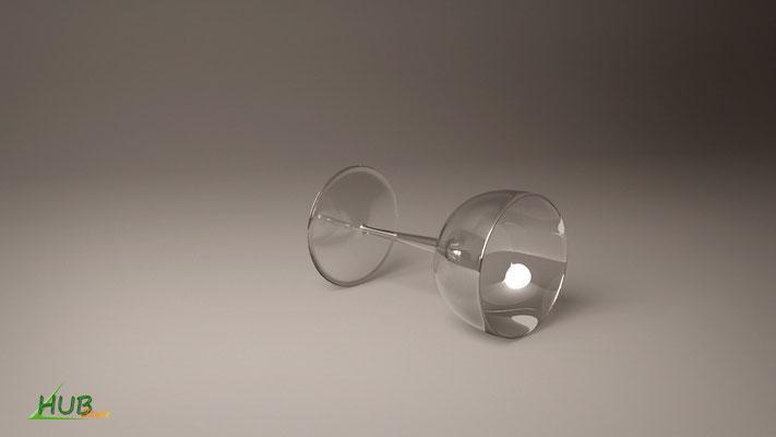 Un verre avec V-ray (3DsMax)