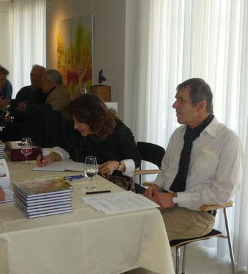 Bildervernissage mit Buchsignierstunde von Beatrice Ganz mit Dr. Christoph Schubert-Weller