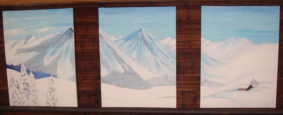 Panoram von Arosa, 2010, Beatrice Ganz