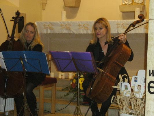 Herbst.Klang mit dem Wiener Cello Duo