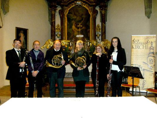 Blech & Holz.Ton Sinfonischen Bläsersextett Wr. Neustadt