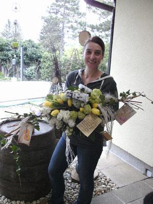 Blumenschmuck von der floristikwerkstatt hladovsky