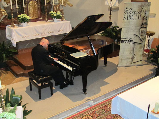 Florian Krumpöck bei Klassik Kirche