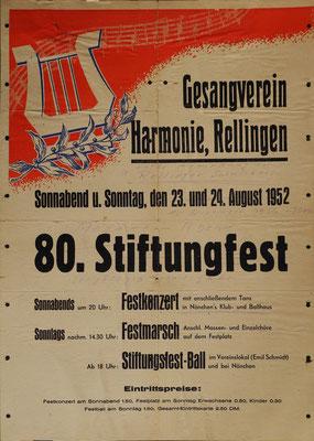 Stiftungsfest 1952