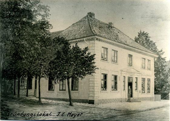 """Gründungslokal """"Gasthof J. C. Meyer"""""""