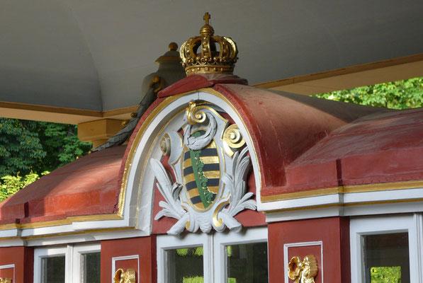 Pillnitz, Tritonengondel