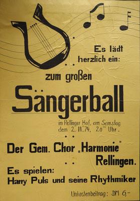 Sängerball 1974